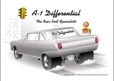 A1 Differential Car