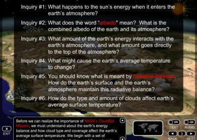 Earth's Energy Balance Screen 3