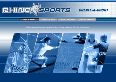 Rhino Sports Court Builder Screen 1