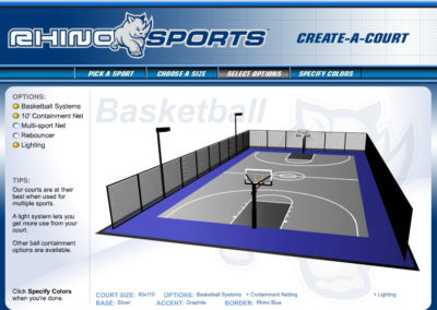 Rhino Sports Court Builder Screen 3