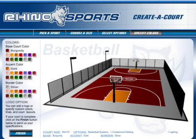 Rhino Sports Court Builder Screen 4