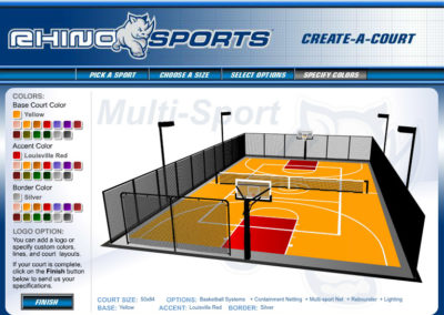 Rhino Sports Court Builder Screen 7