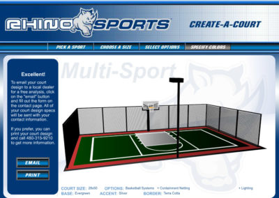 Rhino Sports Court Builder Screen 8